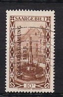14 Timbres   Volksabstimmung    Saargebiet 1935  Timbres Oblitérés  Trace Ou Charnière  1 Timbre Neuf * - Used Stamps