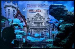 ESPAGNE SPANIEN SPAIN ESPAÑA 2019 STAMPSHOW EXFILNA 19 SANTANDER MNH ED HB-5355 YT F5106 MI B5402 - 2011-... Nuevos & Fijasellos