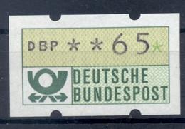 Allemagne  1981 - Michel N. 1.1.h.u - Timbre De Distributeur 65 Pf. (Y & T N. 1) - Distribuidores