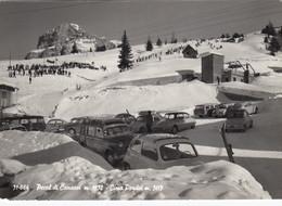 CITROEN DS 21-23-AUTO-CAR-VOITURES-COCHE-POCOL DI CANAZEI-TRENTO-ITALIA-CARTOLINA VERA FOTO- NON VIAGGIATA-1958-1965 - Passenger Cars
