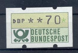 Allemagne  1981 - Michel N. 1.1.h.u - Timbre De Distributeur 70 Pf. (Y & T N. 1) - Distribuidores