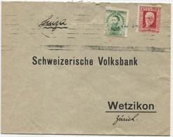 Carta A Suiza - 1931-50 Cartas