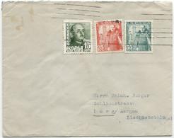Carta A Liechtenstein - 1931-50 Cartas
