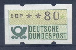 Allemagne  1981 - Michel N. 1.1.h.u - Timbre De Distributeur 80 Pf. (Y & T N. 1) - Distribuidores