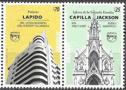 URUGUAY, 2020 ,MNH, UPAEP, ARCHITECTURE, 2v - Autres