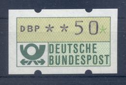 Allemagne  1981 - Michel N. 1.1.h.u - Timbre De Distributeur 50 Pf. (Y & T N. 1) - Distribuidores
