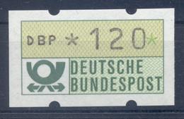 Allemagne  1981 - Michel N. 1.1.h.u - Timbre De Distributeur 120 Pf. (Y & T N. 1) - Distribuidores
