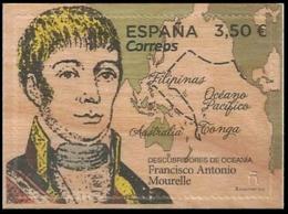 ESPAGNE SPANIEN SPAIN ESPAÑA  2019 OCEANIA DISCOVERERS:  FRANCISCO ANTONIO MOURELLE MNH ED 5351 YV  5097 MI 5392 - 2011-... Nuevos & Fijasellos