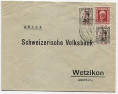 1932 Carta De Barcelona A Suiza - 1931-50 Cartas