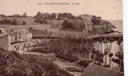 Belle-Ile-en-Mer Le Palais Belle Vue Du Port Bateaux - Belle Ile En Mer