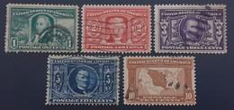 USA 1904 Stamps Set - Used Stamps