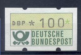 Allemagne  1981 - Michel N. 1.1.h.u - Timbre De Distributeur 100 Pf. (Y & T N. 1) - Distribuidores