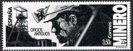 ESPAGNE SPANIEN SPAIN ESPAÑA 2019 OLD OFFICES: MINER-MINERO MNH ED 5349 YT 5098 MI 5393 SC 4387 SG 5348 - 2011-... Nuevos & Fijasellos