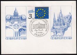 Czechoslovakia Prague 1990 / Visit Of The USA President George Bush - Otros