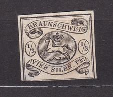 Braunschweig - 1856 - Michel Nr. 5 - Ungebr. - 90 Euro - Brunswick