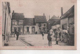 SEZANNE - Rue De Broyes - Belle Animation, Militaires, Cheval, Attelage - Sezanne