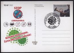 Coronavirus COVID-19 / Croatia And World Against Pandemic / Health, Disease, Be Safe / Croatia Zagreb 2020 - Enfermedades