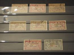 MAROCCO - INSIEME DI - 1914/21 ALLEGORIA 8 VALORI - TIMBRATI/USED - Used Stamps