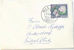 Neujahrsbrieflein  Milken (Bern) - Lützelflüh            1962 - Briefe U. Dokumente