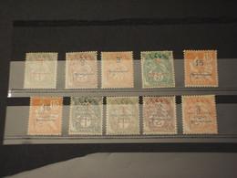 MAROCCO - INSIEME DI - 19........ ALLEGORIA 10 VALORI - NUOVI(+) - Used Stamps