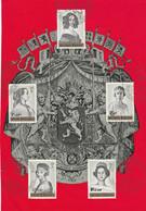 OCB 1233-38 (zonder 1234) Op Herdenkingsblaadje - Cartas
