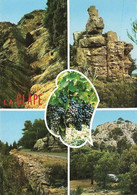 11 Narbonne Plage Curiosités Et Sites Pittoresque Du Massif De La Clape (carte écrite) - Narbonne