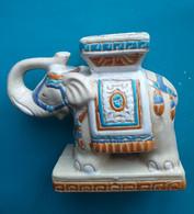 ELEPHANT Décoratif En Céramique, à Usage De Cendrier - Ohne Zuordnung