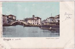 CHIOGGIA PROSPETTO VEDUTO IN LAGUNA - Venezia (Venice)