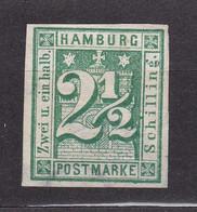 Hamburg - 1864 - Michel Nr. 9 - Ungebr. - 110 Euro - Hamburg