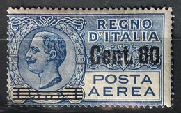ITALY / ITALIA 1927 - MLH - Sc# C11 - Air Mail 80c/1L - Airmail