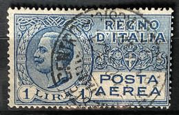 ITALY / ITALIA 1926-28 - Canceled - Sc# C6 - Air Mail 1L - Airmail