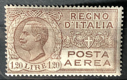 ITALY / ITALIA 1926-28 - MLH - Sc# C7 - Air Mail 1.20L - Airmail