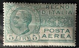 ITALY / ITALIA 1926-28 - MLH - Sc# C9 - Air Mail 5L - Airmail
