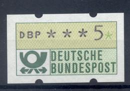 Allemagne  1981 - Michel N. 1.1.h.u - Timbre De Distributeur 5 Pf. (Y & T N. 1) - Distribuidores