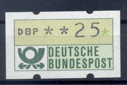 Allemagne  1981 - Michel N. 1.1.h.u - Timbre De Distributeur 25 Pf. (Y & T N. 1) - Distribuidores