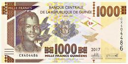 Guinea - 1000 Francs - 2017 - Pick: 48.b - Unc. - Serie CX - 1.000 - Guinea