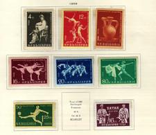 Bulgarie (1959) - Sports   -  Spatarkiades - Football    Neufs** - MNH - Neufs