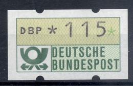 Allemagne  1981 - Michel N. 1.1.h.u - Timbre De Distributeur 115 Pf. (Y & T N. 1) - Distribuidores