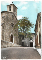 Fontcouverte L'Eglise Et L'entrée Du Couvent (carte écrite) - Churches & Cathedrals