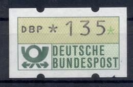 Allemagne  1981 - Michel N. 1.1.h.u - Timbre De Distributeur 135 Pf. (Y & T N. 1) - Distribuidores