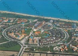 CARTOLINA  DUNA VERDE,CAORLE,VENEZIA,VENETO,VEDUTA AEREA,LUNGOMARE,SPIAGGIA,BARCHE A VELA,VACANZA,ESTATE,VIAGGIATA 1988 - Venezia (Venice)