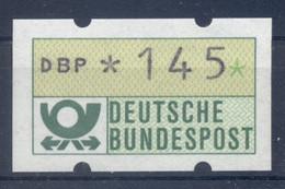 Allemagne  1981 - Michel N. 1.1.h.u - Timbre De Distributeur 145 Pf. (Y & T N. 1) - Distribuidores