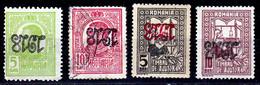 ERREUR / CURIOSITÉ / VARIÉTÉ – ERROR / CURIOSITY / VARIETY : 1918 - SUPRATIPAR RASTURNAT / INVERTED OVERPRINT (ag688) - Ohne Zuordnung