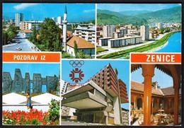 Yugoslavia Bosnia And Herzegovina Zenica / XIV Olympic Winter Games Sarajevo 1984 / Mosque, Panorama - Giochi Olimpici