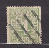 Hamburg - 1864 - Michel Nr. 16 - Gestempelt - 30 Euro - Hambourg