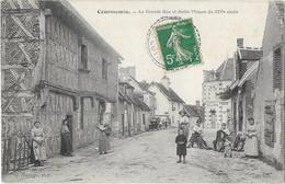 COURMEMIN: La Grande Rue Et Vieille Maison Du XIVè Siècle - Vannier Phot - Joly édit - Andere Gemeenten
