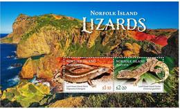 Norfolk Island  2021  MS MNH Lizards  Lézards Lézard - Other