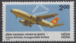 INDE - Mise En Service De L'Airbus Par Air India - Nuevos
