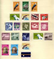 Nauru (1963-74) - Vues Et Activites  - Independance - Noel -   Neufs** - MNH - Nauru