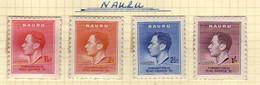 Nauru (1937) - Couronnement George VI -   Neufs** - MNH - Nauru